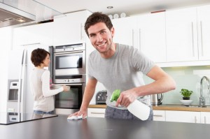 How to Speed Clean the Kitchen